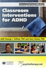 Classroom Interventions for ADHD - ORGANISATIONAL