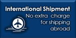 International Shipment - same price!