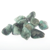 Emerald crystal tumble stone large