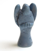 Howlite angel blue howlite angel carving