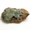 Smithsonite crystal green druse 02
