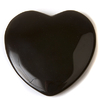 Obsidian crystal heart