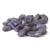 Tanzanite crystal tumble stone small