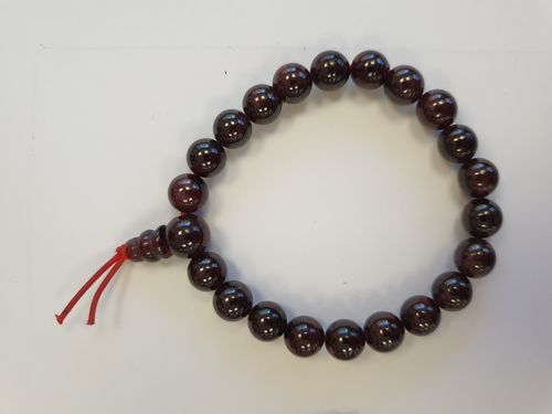 Garnet 8mm Power Bracelet