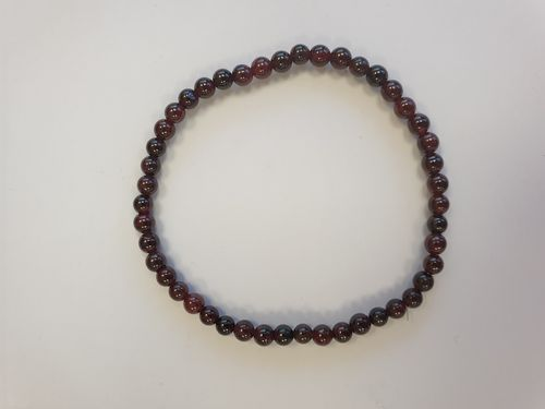 Garnet 4mm Power Bracelet